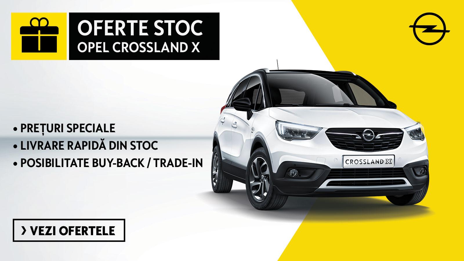 Oferte stoc Opel Crossland X