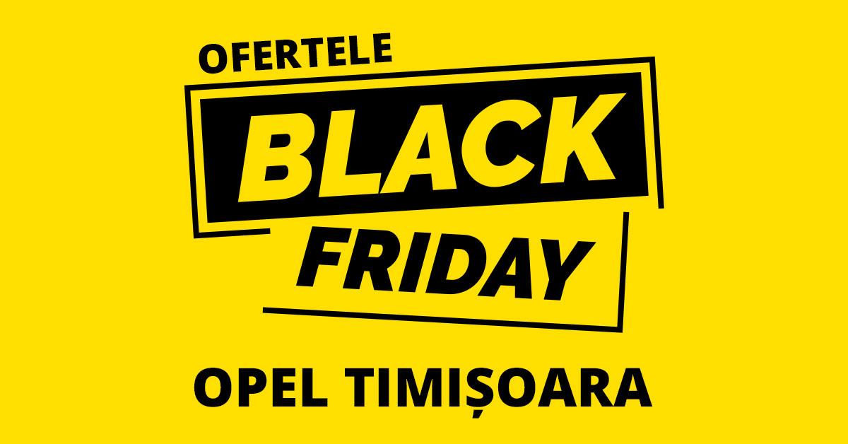Oferte Black Friday Opel